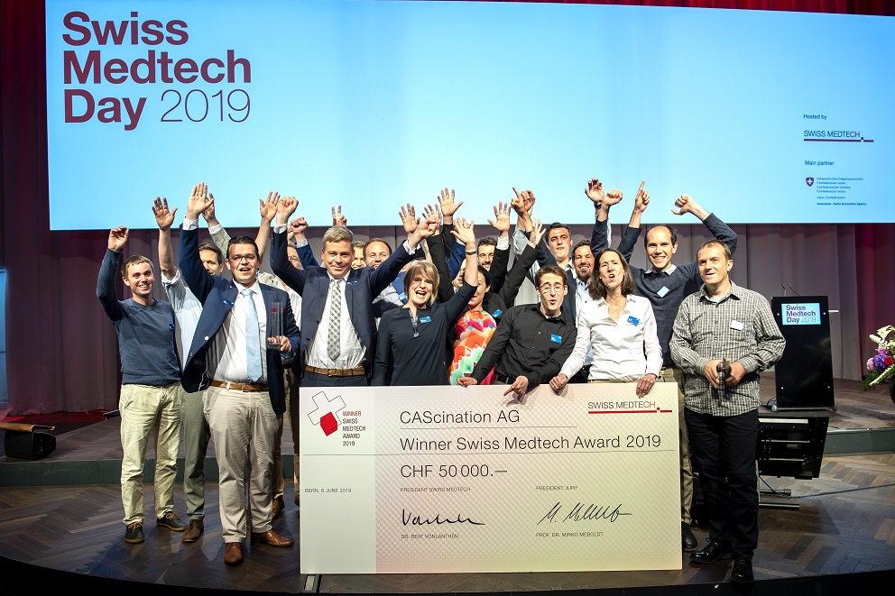 Med Tech Award 2019 CAScination (Peter Mosimann)